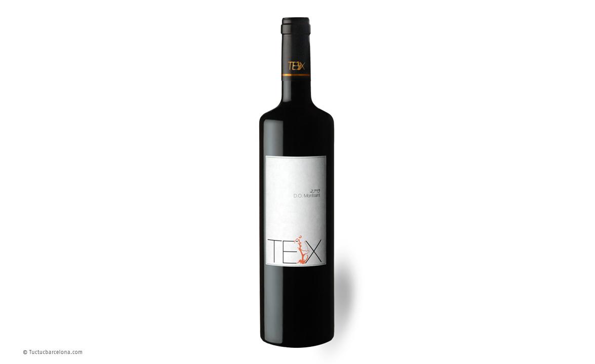 Diseño gráfico etiqueta de vino DO Montsant