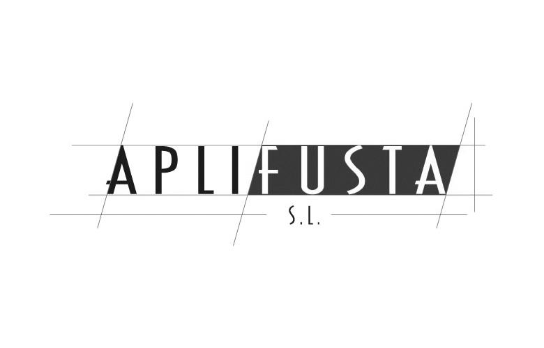 Diseño logotipo Aplifusta