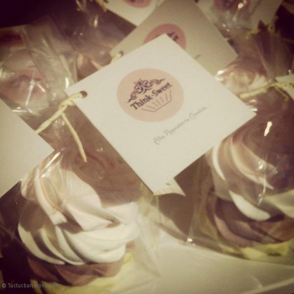 Diseño gráfico etiqueta para cupcakes