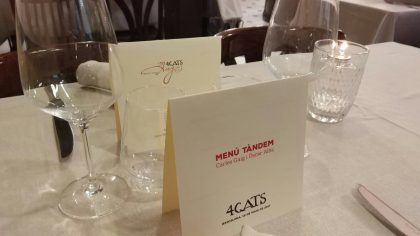 Diseño gráfico minuta restaurante personalizada por diseñador gráfico Barcelona