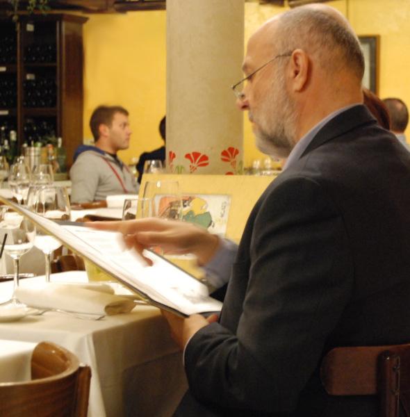 Diseño gráfico carta restaurante 4 Gats en Barcelona