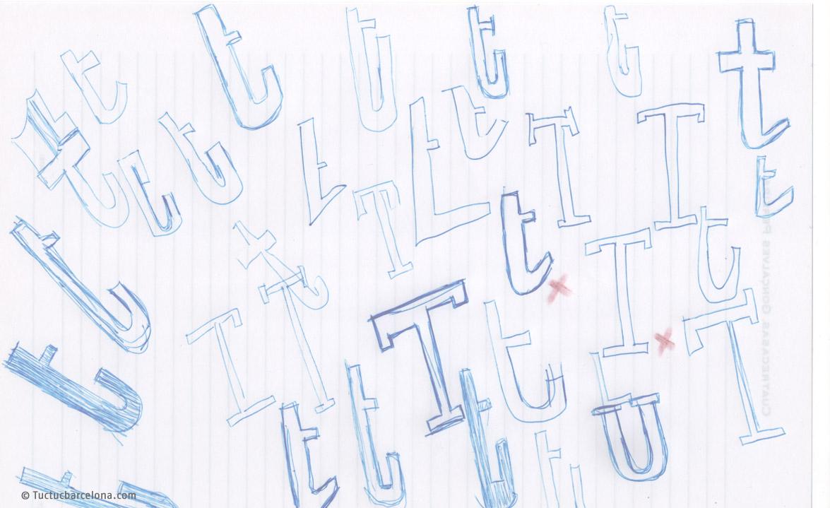 Diseñador tipográfico para logotipo y marcas personalizadas en Barcelona