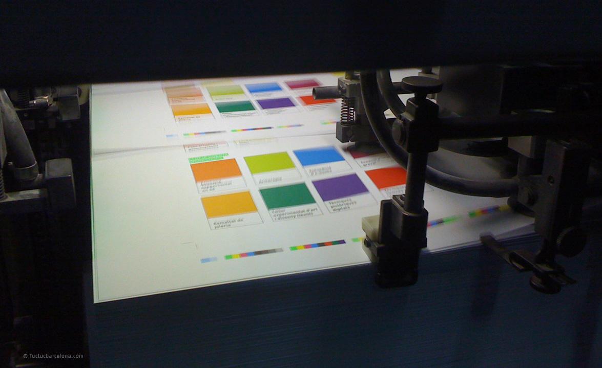 Gestión y consultoría de impresión proyectos gráfico