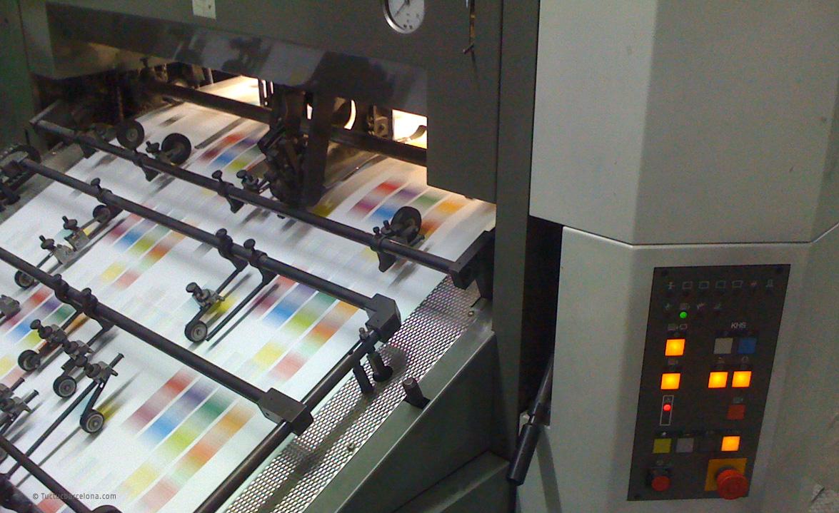 Cosnultor imprenta. Gestion Impresion Proyectos Graficos y Consultoría impresión Tuctucbarcelona