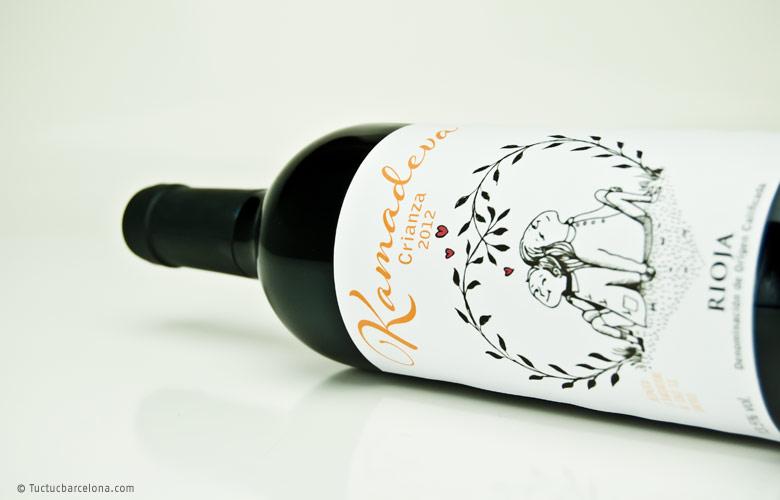 Diseño etiqueta vino Rioja